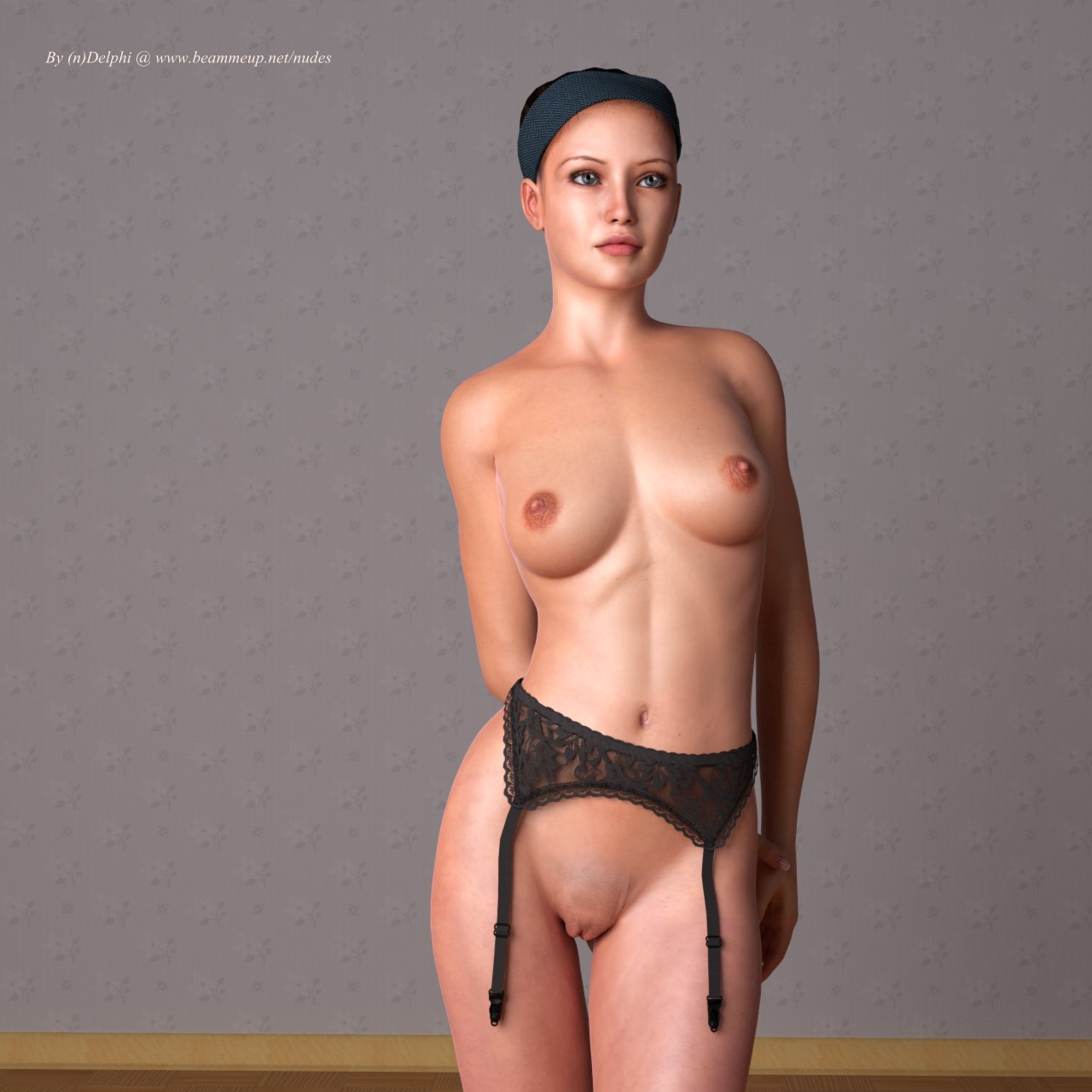 Nude woman from daz nude picture